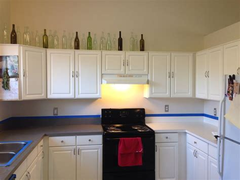 Rustoleum Countertop Paint Colors by Two Hours And 20 To New Countertops Rust Oleum