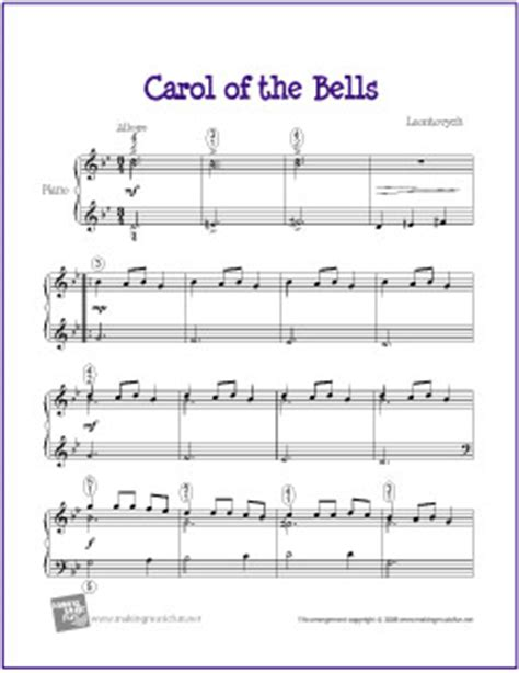 carol of the bell free christmas carols sheet music santa claus and christmas