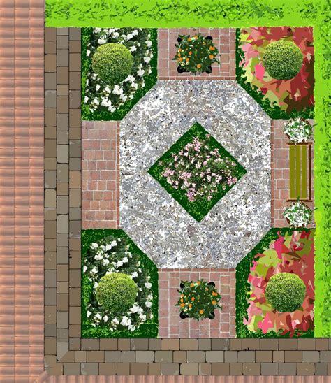 Jardin Patio by Jardins Pour Patios Plans
