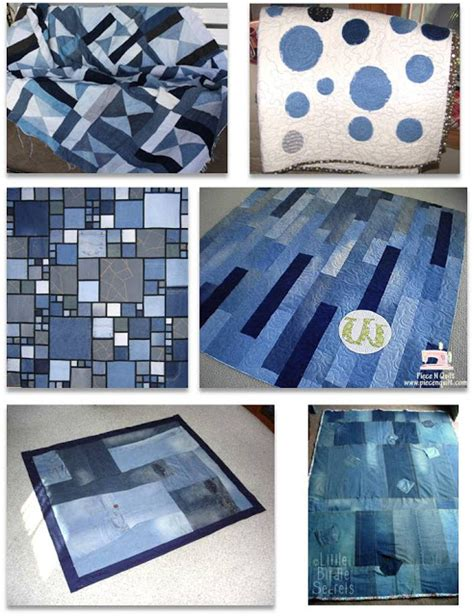 Denim Quilt Ideas by Brainstorm Repurposed And Upcycled Denim