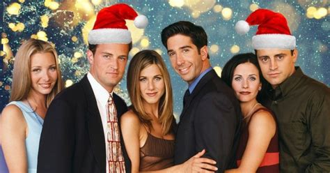 happy christmas eve eve   friends christmas episodes ranked metro news