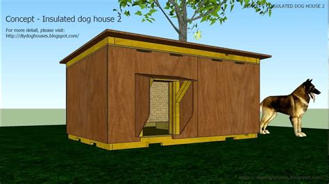 dog house ventilation concept insulated dog house 2 youtube
