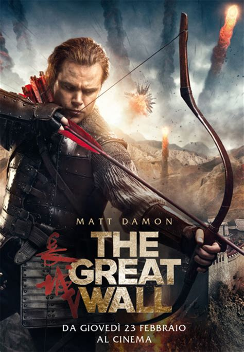 film anime nere gratis poster the great wall