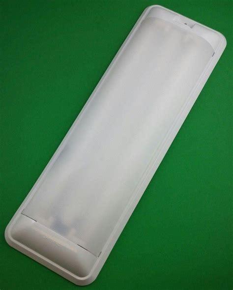 Rv 12 Volt Fluorescent Light Double Thin Lite 656 Ebay
