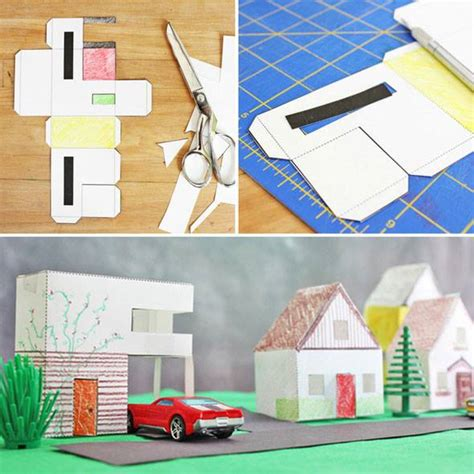 Craft Paper House - design for paper houses babble dabble do