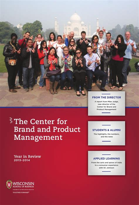 Product Management Mba Wisconsin by The Center For Brand And Product Management By