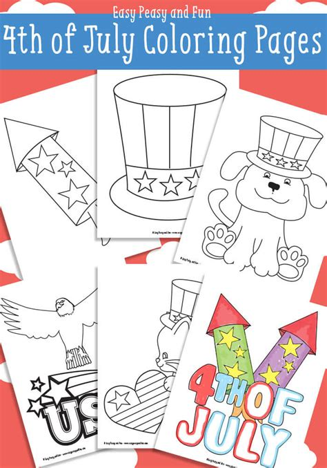 coloring book paper stock 50 printables to celebrate the 4th of july the paper