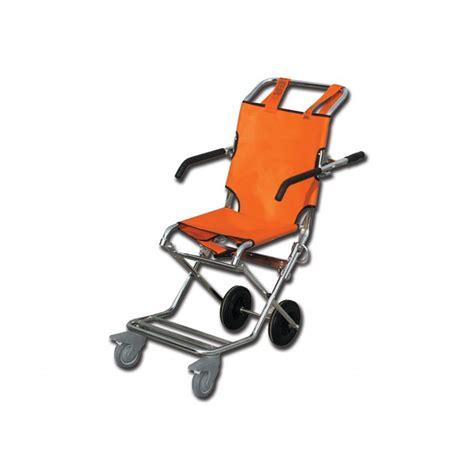 sedia arancione sedia portantina arancione cromata ortopedia sanitaria