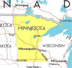 Minnesota Map Usa by Maps Usa Map Minnesota