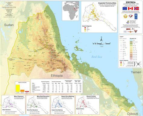 eritrea map eritrea travel forum