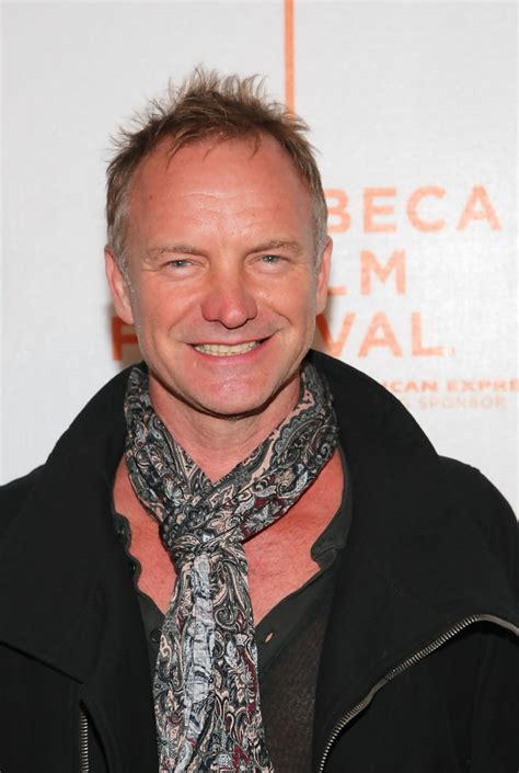 has sting had a hair transplant sting photos photos premiere of quot moon quot at the 2009