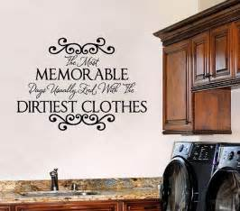 Wall Stickers For Laundry Room laundry room wall sayings vinyl wall decals quote lettering