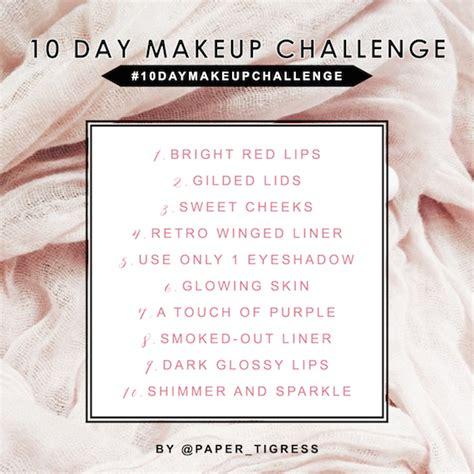 makeup challenge 10 day makeup challenge emilyloke