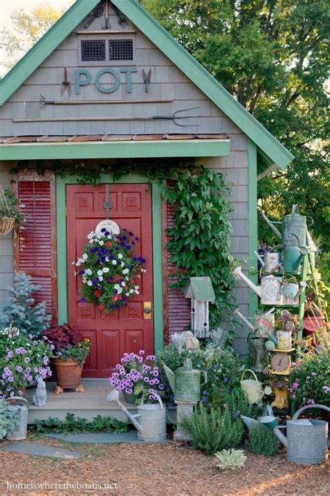 garden shed decorating ideas   exterior suitable