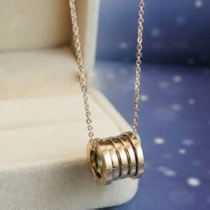 Gelang Titanium Branded kalung bvlgari branded perhiasan trendy