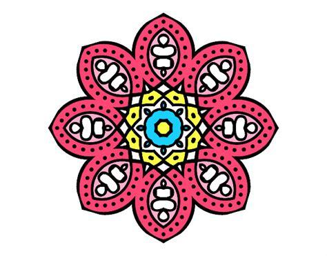 imagenes mandalas arabes dibujo de mandala de inspiraci 243 n 225 rabe pintado por en