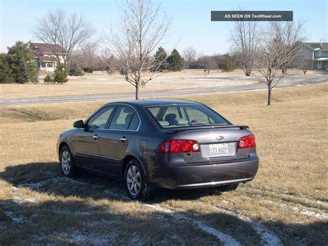 2008 Kia Optima Ex 2008 Kia Optima Ex Sedan 4 Door 2 4l Seats Exc