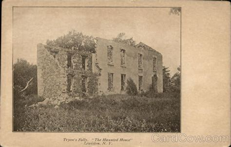 Tryon House by Tryon S Folly Quot The Haunted House Quot Lewiston Ny