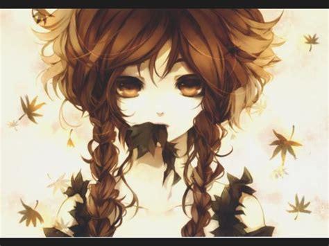 imagenes de lentes kawaii lista mejor chica anime de cabello marr 243 n