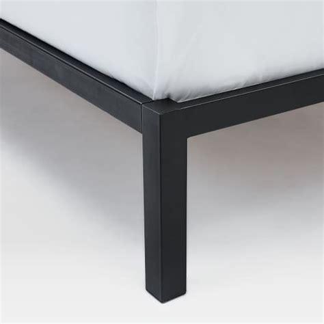 bed box frame box frame bed frame charcoal west elm