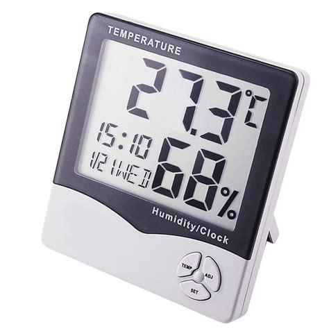 Wonderful Analog Hygrometer Temperature Meter digital hygrometer temperature humidity meter lcd clock