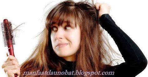 mengatasi  mengobati rambut rontok