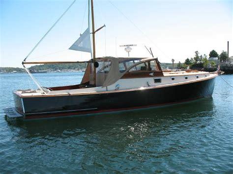 yacht boat brokerage main beach 1964 downeast cruiser for sale bunker ellis boats info