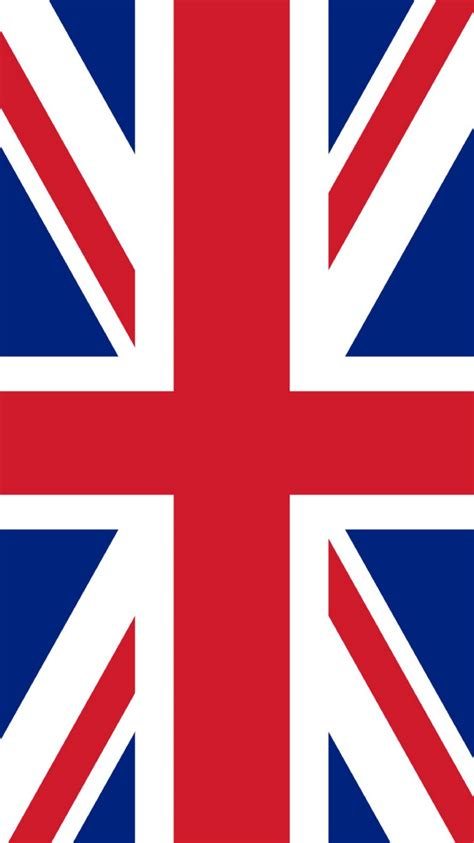 uk flag illustration iphone  wallpaper hd