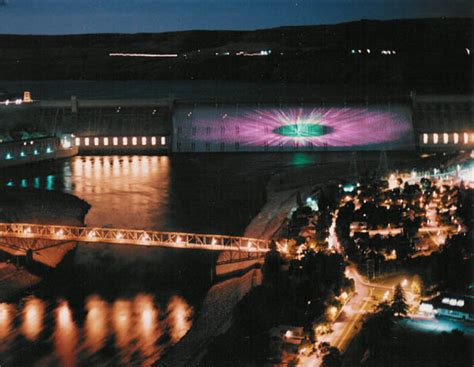 grand coulee dam laser light grand coulee dam clio
