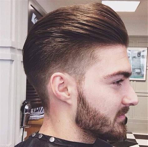 hair tapers at the back mens hair tapered fade slick back look h a i r
