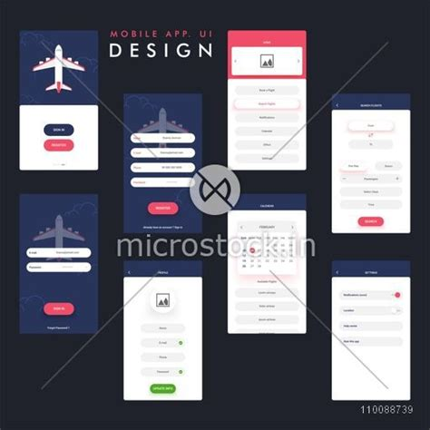 application design user friendly travel mobile app ui ux design with sign in register