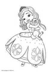 princess sofia coloring pages games princess sofia printable coloring pages