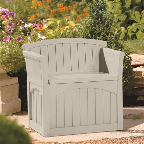 patio garden storage seat w78cm 163 99 99
