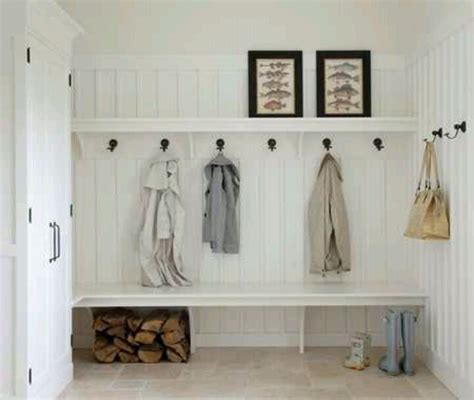 mudroom bench with hooks simple mudroom bench hooks and shelf with bead board i