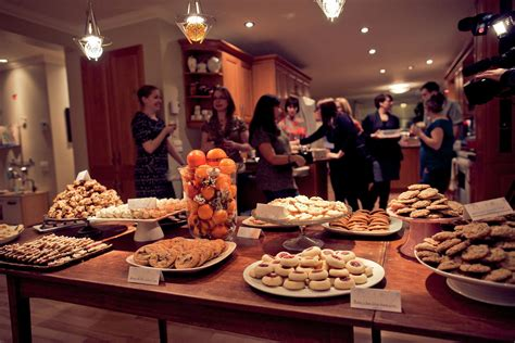 cookie table decorations chocolate charity cheer tips for hosting a