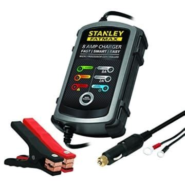 stanley airpressor and battery charger stanley fatmax bc8s 8 battery charger with 2