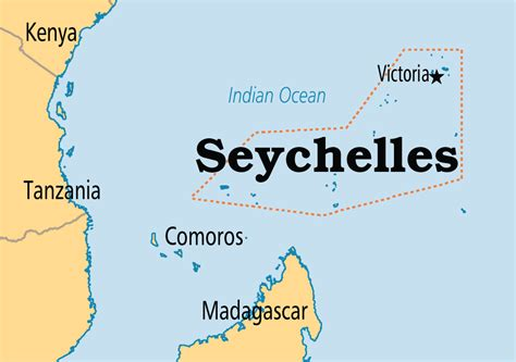 seychelles map location world seychelles africa indian