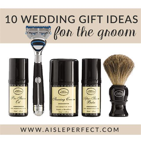 10 Wedding Gift Ideas for the Groom   Aisle Perfect