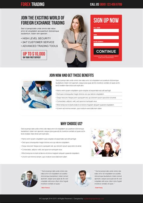 Forex Landing Page Template free forex landing page template ohovovygozah web fc2