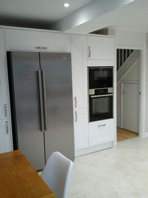 american fridge freezer  larder units snd oven