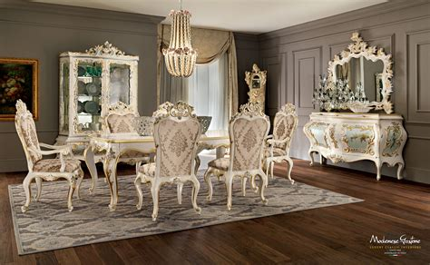 home interior solutions ivory dining room with inlaid and carved furniture finished with gold leaf applications dining