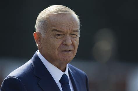 uzbek president islam karimov left placed his daughter guinara uzbekistan s gov t says ailing president islam karimovis
