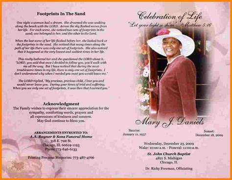 5 sle obituary letter format for