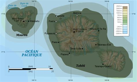 map of tahiti map of tahiti 187 travel