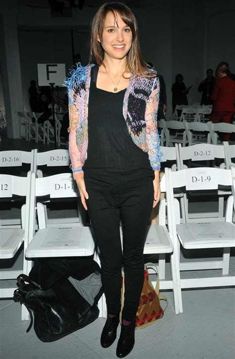 Natalie Portman Is Fashionable by Natalie Portman Makes Post Baby Appearance At New
