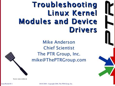 tutorial linux kernel module troubleshooting linux kernel modules and device drivers