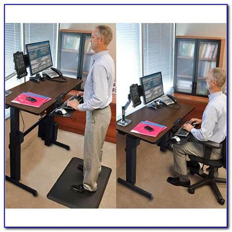 stand up sit desk stand up sit desks desk home design ideas