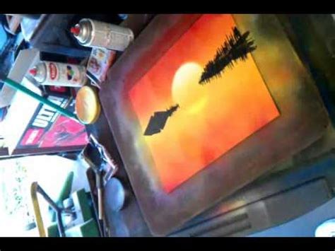 spray paint city tutorial spray paint sunset tutorial part 2 of 3