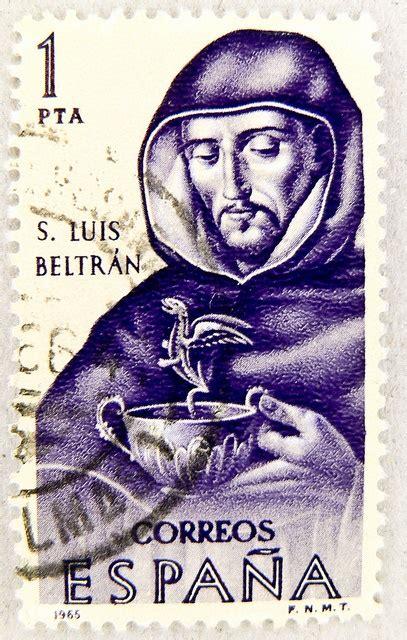 resa porto franco postes timbre espagne sello espana 1 pta postage st