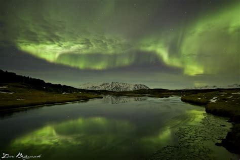 northern lights iceland march the polar lights